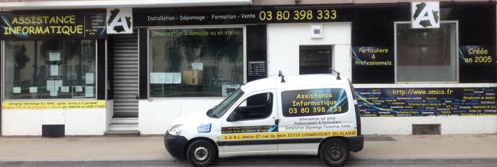 Société de dépannage informatique à Dijon